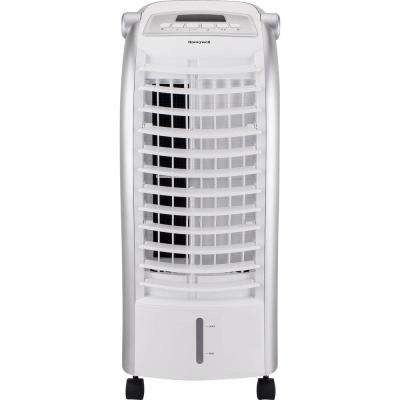 200 CFM 4-Speed Indoor Portable Evaporative Air Cooler with Remote Control and Ice Pack for 120 sq. ft.