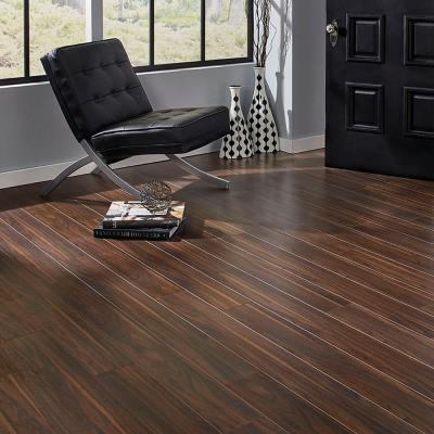 Textured Walnut Morningside 12 mm Thick x 5.59 in. Wide x 50.55 in. Length Laminate Flooring (753.60 sq. ft. / pallet)
