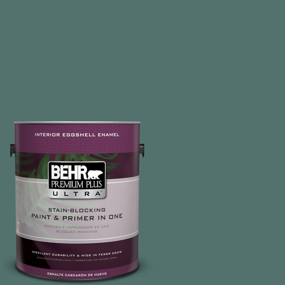 1 gal. #HDC-WR16-04 Noble Fir Eggshell Enamel Interior Paint