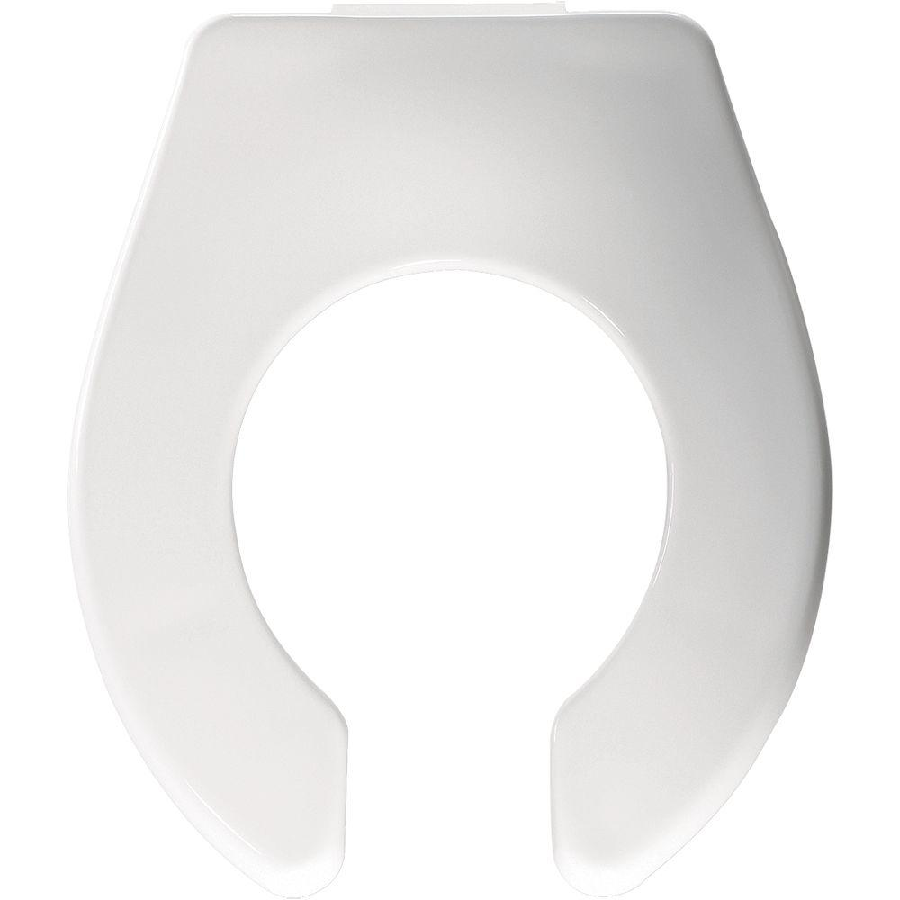 Church Children S Round Open Front Toilet Seat In White