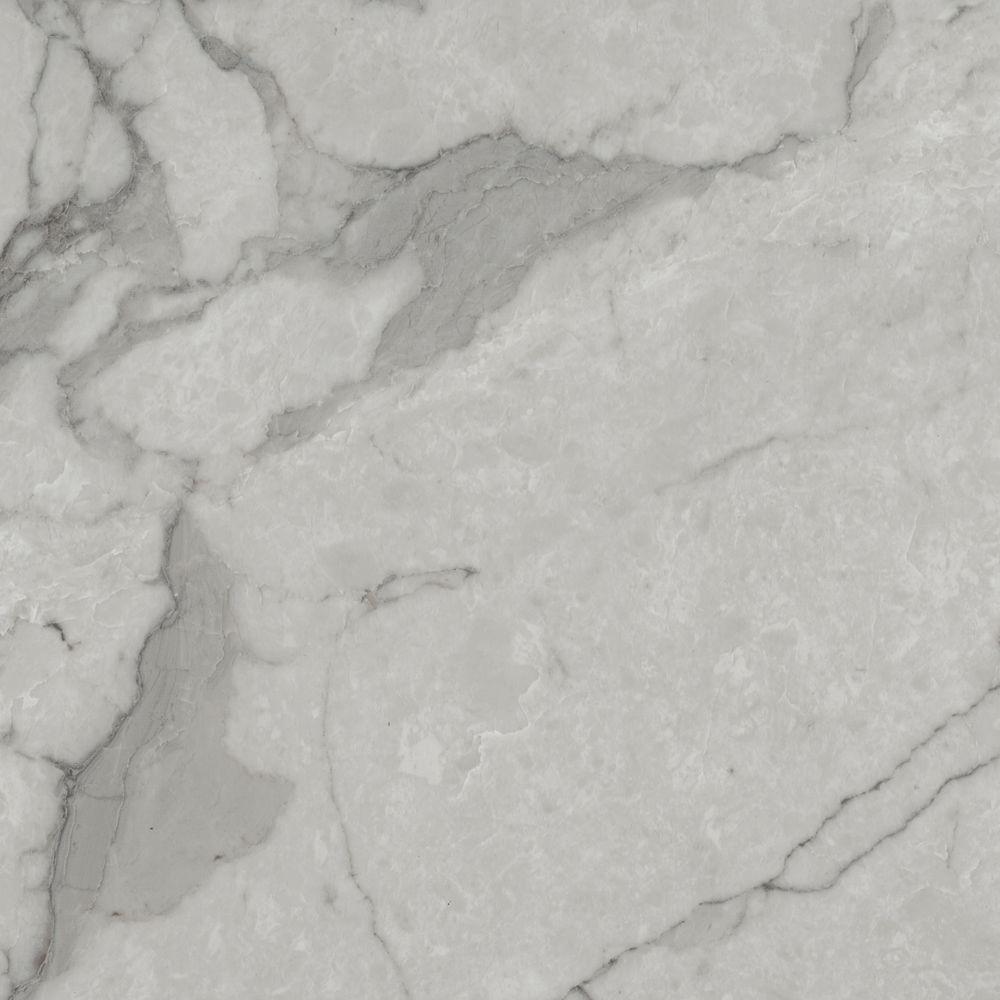 Grey Marble 12 in. Width x 12 in. Length x 0.080
