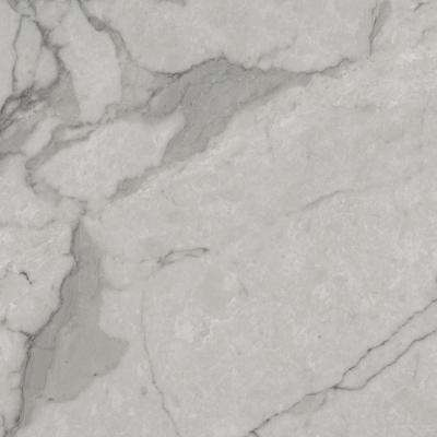 Grey Marble 12 in. Width x 12 in. Length x 0.080 in. Thick Peel and Stick Vinyl Tile (30 sq. ft. / carton)