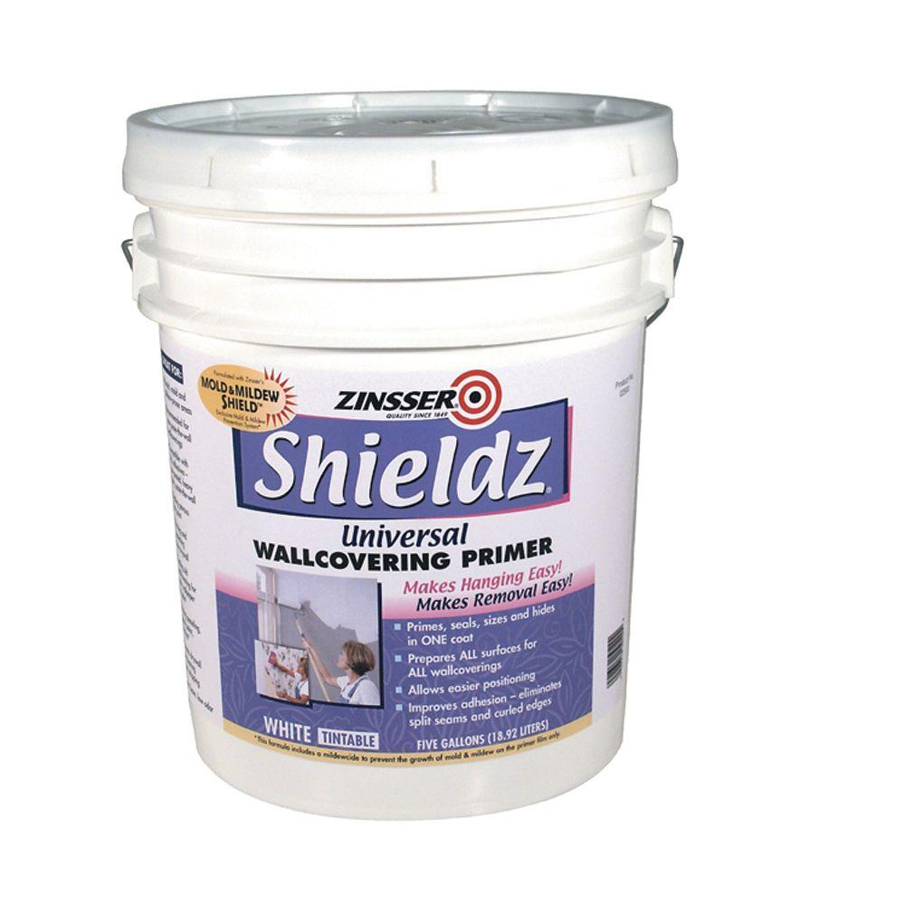 Zinsser 5-gal. Water Base Shieldz White-DISCONTINUED