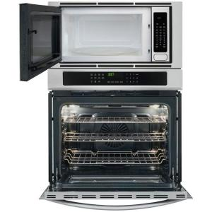So Sku 1000018739 5 Frigidaire Gallery 30 In Electric Convection Wall Oven With Built Microwave