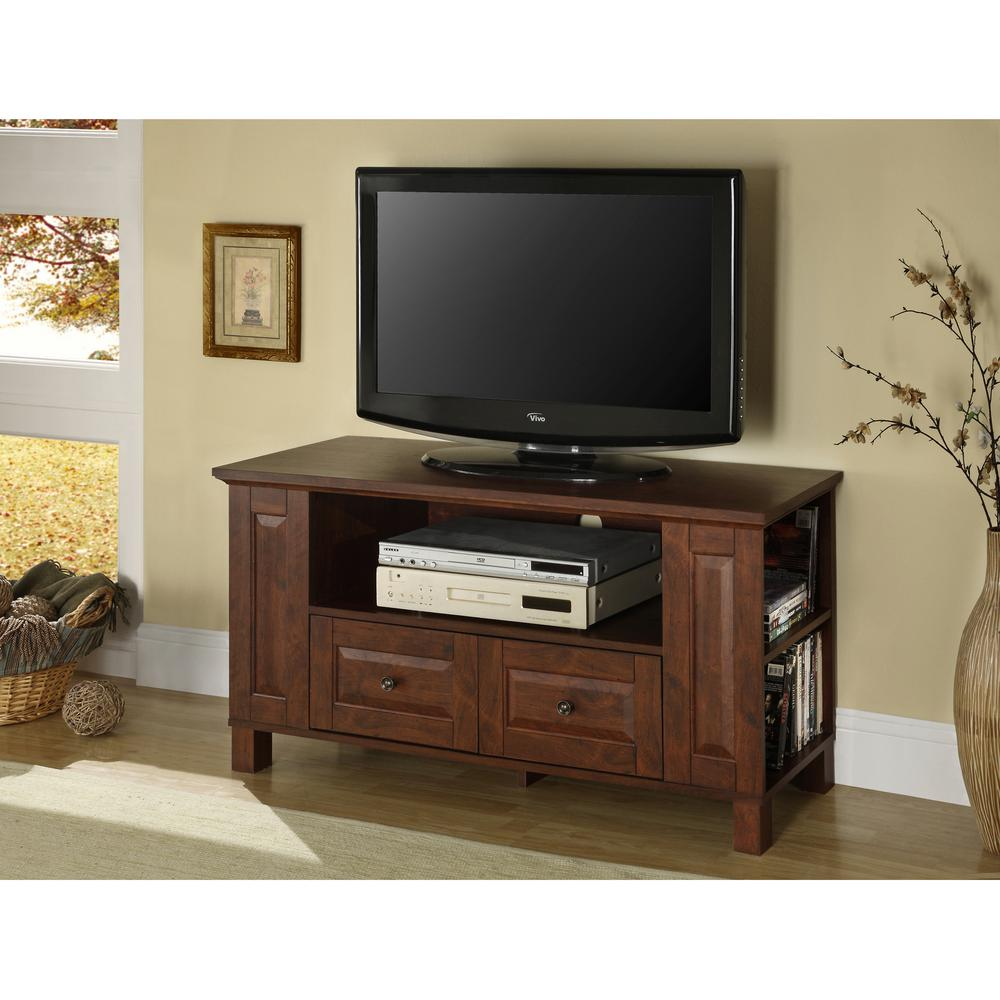 Walker Edison Furniture Company Columbus Traditional Brown