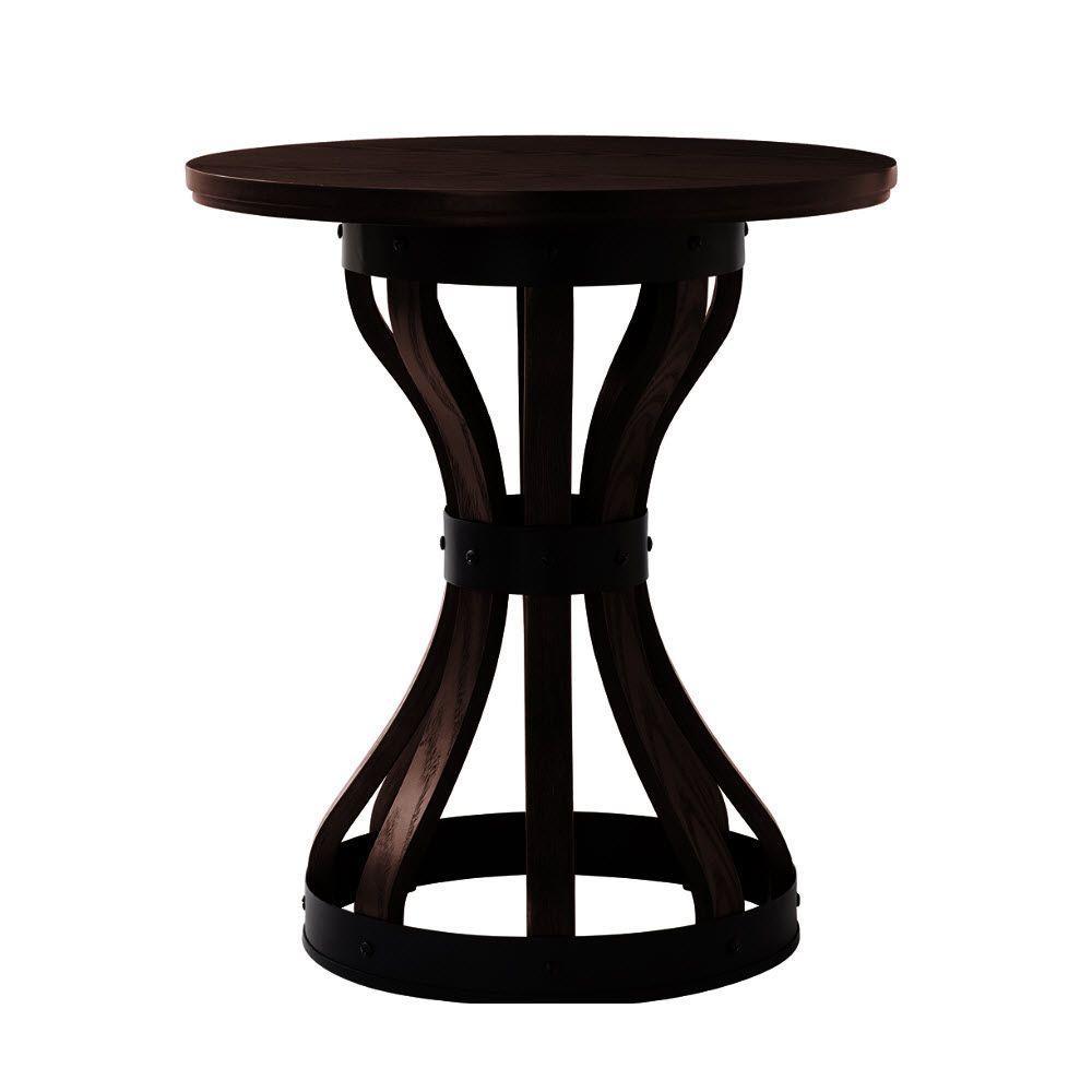 Home Decorators Collection Stave Espresso End Table