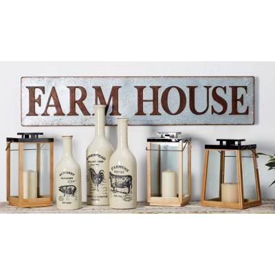 Litton Lane FARM HOUSE Iron Decorative Sign