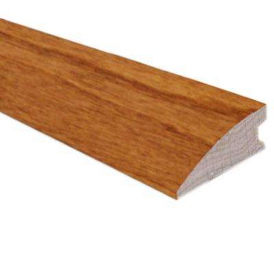 Birch Dark Gunstock 3/4 in. Thick x 1-5/8 in. Wide x 78 in. Length Flush-Mount Reducer Molding