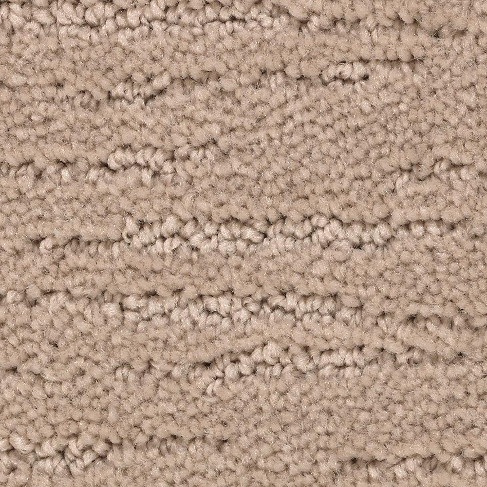 Mohawk Carpet Sample Enchantment Color New Fawn Pattern 8 In X