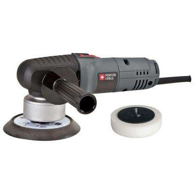 4.5 Amp Corded 6 in. Variable Speed Random Orbital Sander with Polishing Pad