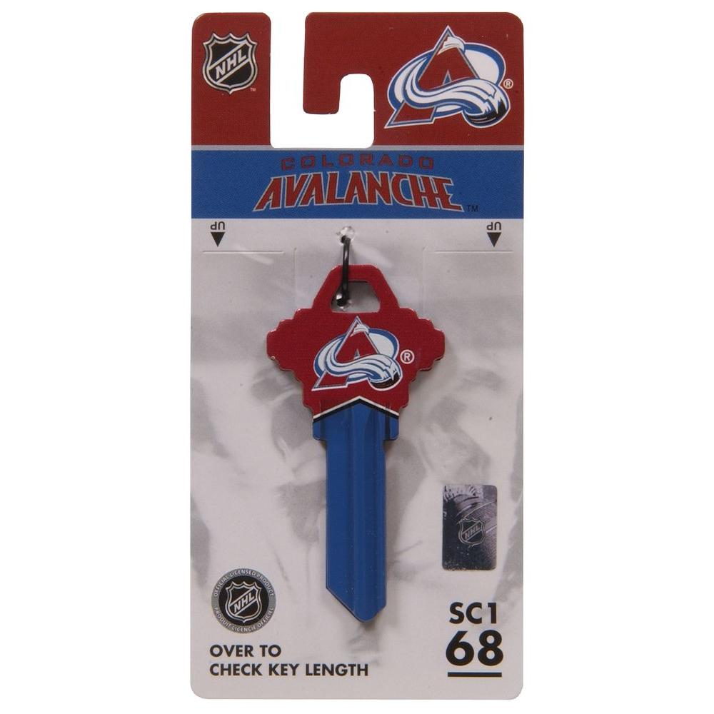 quality design f62e7 af20e Hillman #68 NHL Blank Colorado Avalanche-Themed Key-94053 ...
