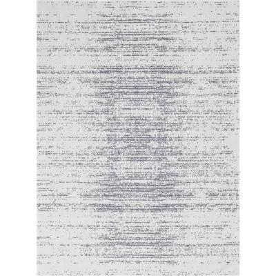 Unique Loom Decatur Static White 8 ft. 5 in. x 11 ft. 4 in. Area Rug, Off White