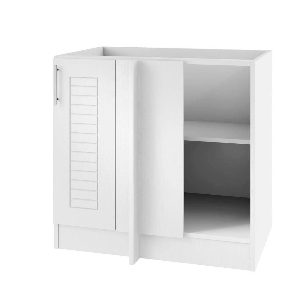 Key West Island Blind Outdoor Base Corner Cabinet Full Height Doors Right Radian 1815 Product Picture