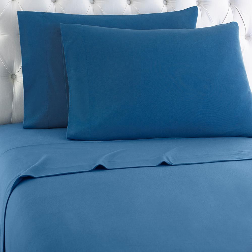 Twin 3-Piece Smokey Moutain Blue Sheet Set
