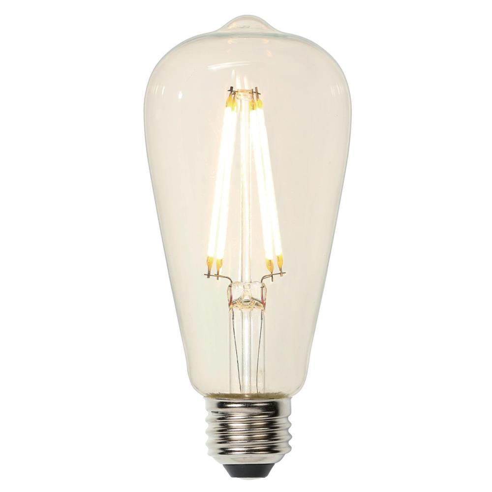 Westinghouse 40w Equivalent Amber St20 Dimmable Filament: Westinghouse 40W Equivalent ST20 Dimmable Filament LED