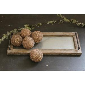 Brown Decorative Tray