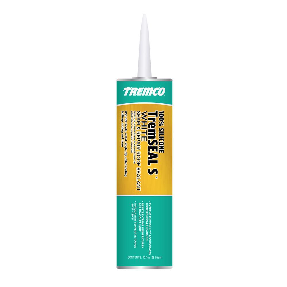 Tremco 10 1 Oz Tremseal S White Roof Sealer 346563 The