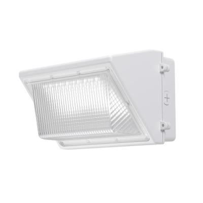 200-Watt Equivalent White Integrated Outdoor LED Wall Pack, 3300 Lumens, Outdoor Security Lighting