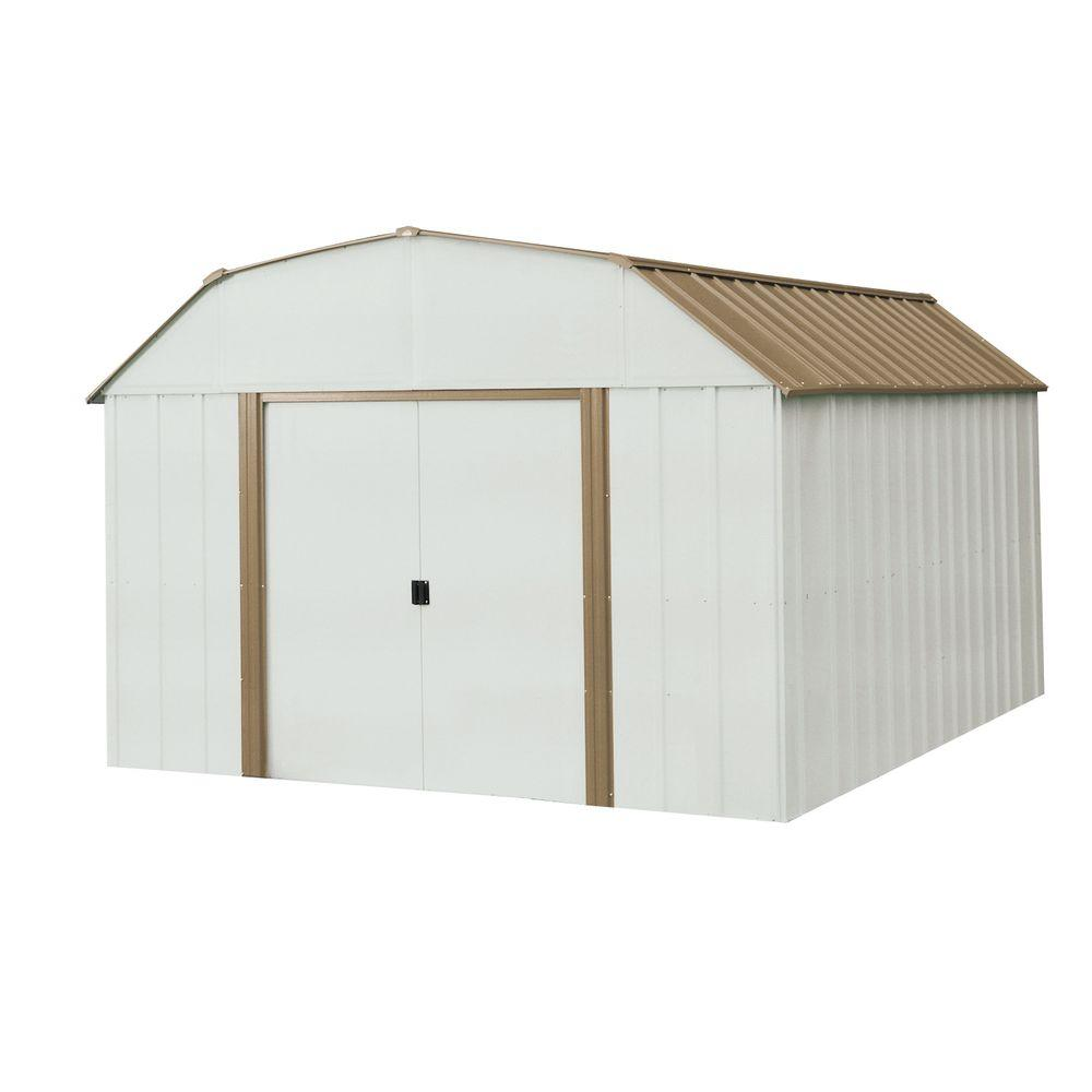 Arrow Dakota 10 ft. x 14 ft. Steel Shed-DK1014 - The Home Depot