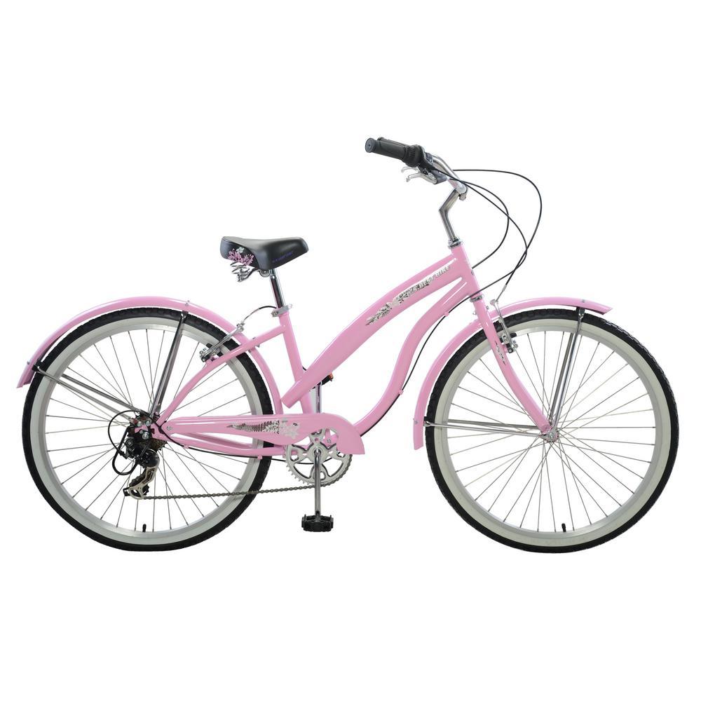 26 in. Women's Stylish Cruiser in Pink
