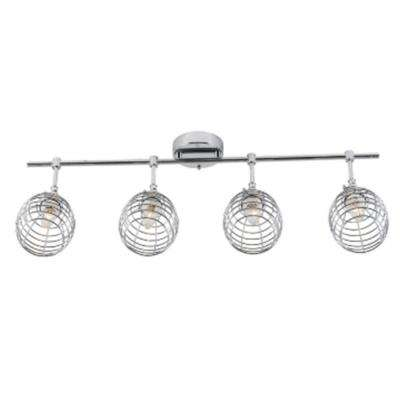 2.6 ft. 4-Light Chrome Track Lighting Kit