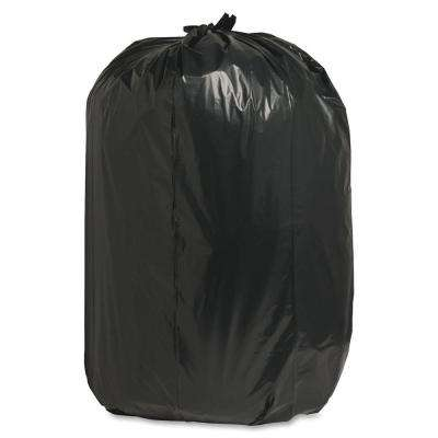 60 Gal. 38 in. x 58 in. 1.65 mil Recycled Heavy-Duty Trash Liners (100/Box)