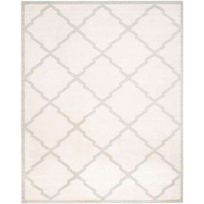 Amherst Beige/Light Gray 9 ft. x 12 ft. Indoor/Outdoor Area Rug