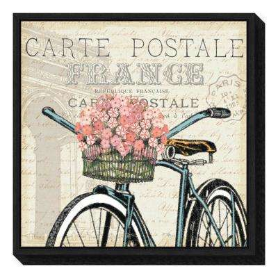 """Paris Ride II"" by Pela Studio Framed Canvas Wall Art"