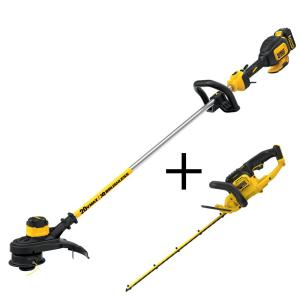 Dewalt 13 inch 20-Volt MAX Lithium-Ion Cordless Brushless String Trimmer with... by DEWALT