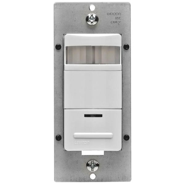 Decora 120/277-Volt AC White Occupancy PIR Sensor