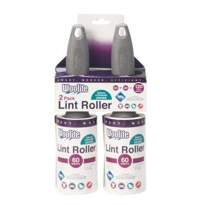 Sanitized Pro Grade 60-Sheet Super Jumbo Lint Roller (2-Pack)
