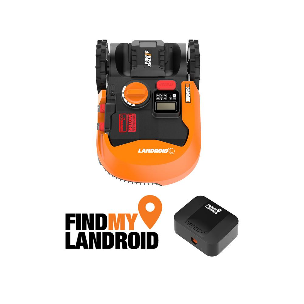 "Worx 20 Volts 9 "" 4.0 Ah Robotic Landroid L Mower, Brushless Wheel Motors, Wifi Plus Phone App"