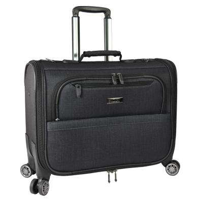 Freetown 21 in. Carry-On Spinner Garment Bag, Charcoal