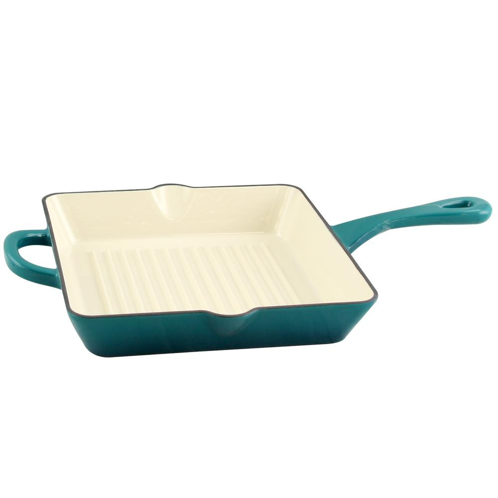 Artisan Enameled Cast Iron Grill Pan