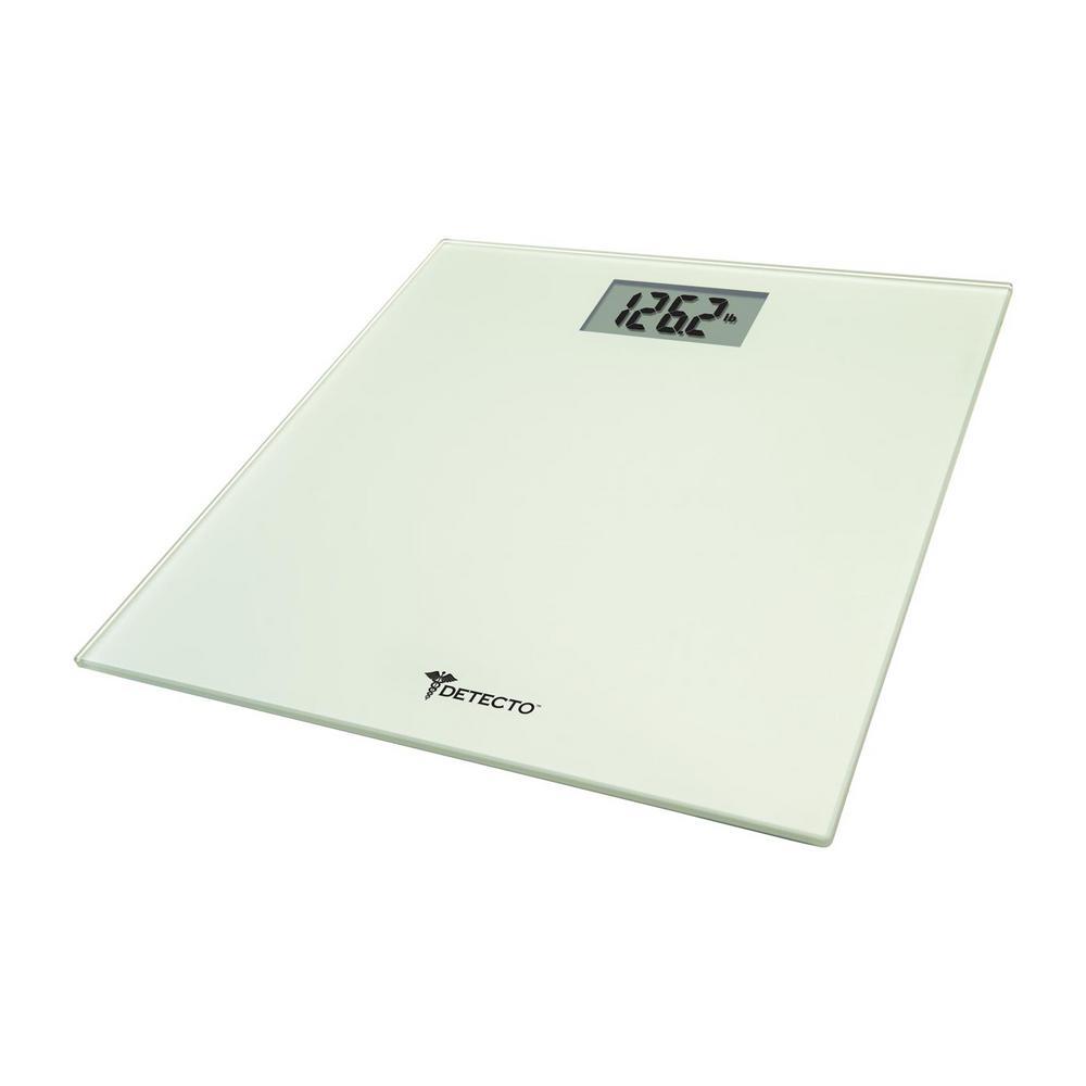 Detecto Glass LCD Digital Scale
