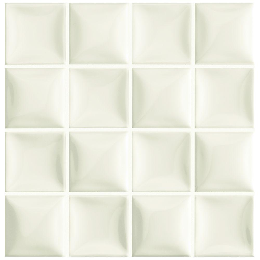 Merola Tile Duna Marfil Soft White 7 78 In X 7 78 In Ceramic