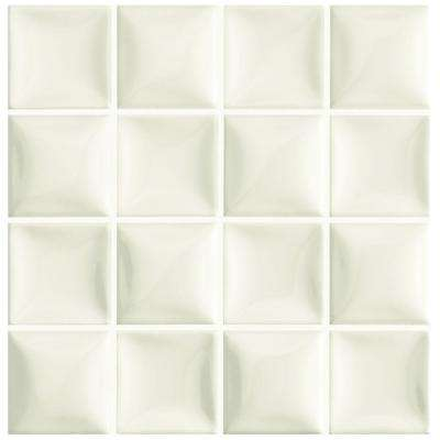 Duna Marfil Soft White 7-7/8 in. x 7-7/8 in. Ceramic Wall Tile