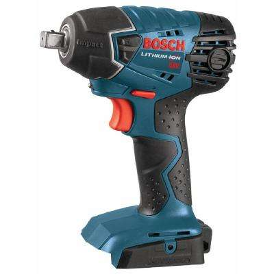 18 Volt Lithium-Ion Cordless Electric 1/2 in. Variable Speed Impact Wrench Driver with LED Light (Tool-Only)