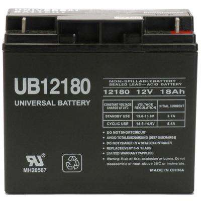 12V 18Ah T4 AGM Battery