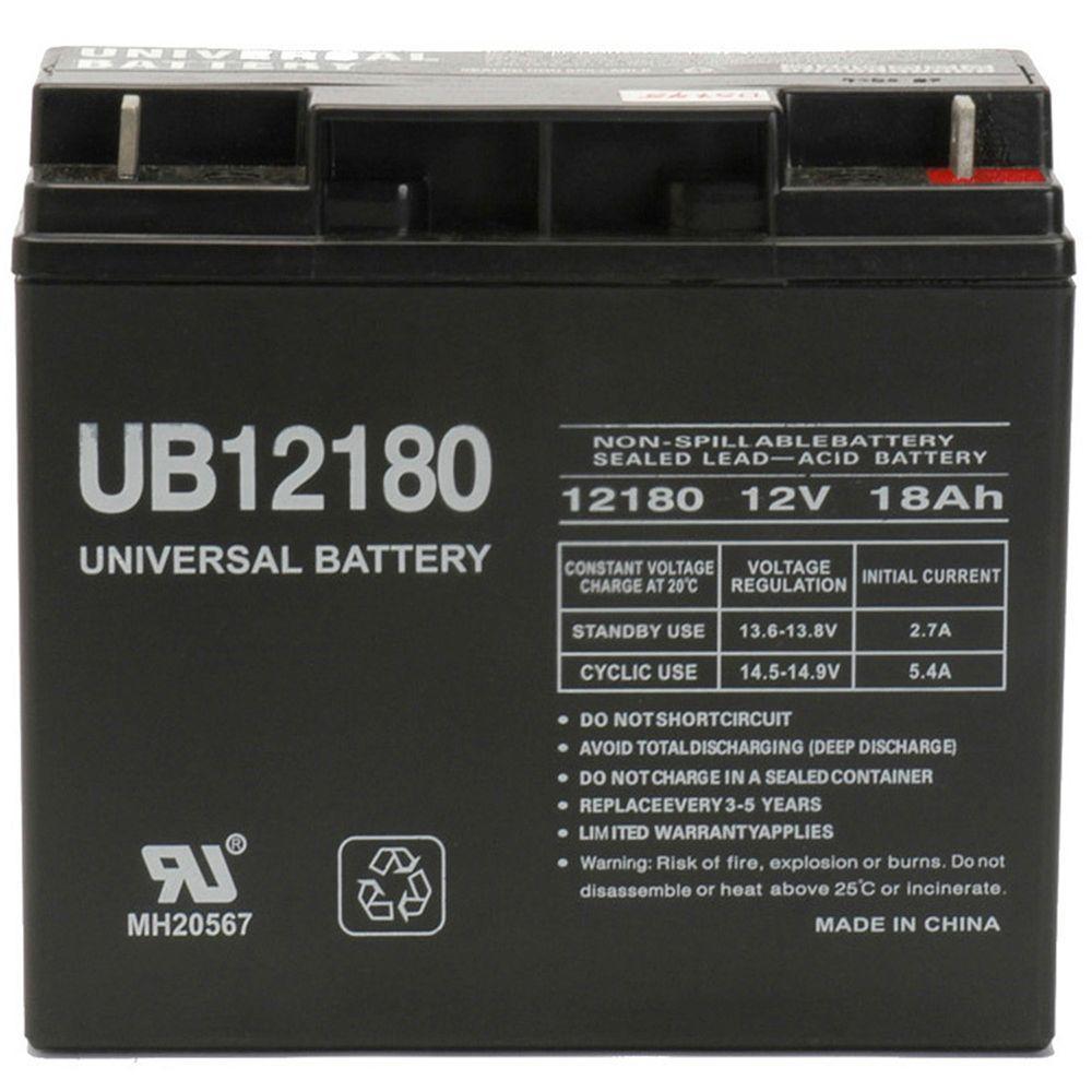SLA 12-Volt T4 Terminal AGM Battery