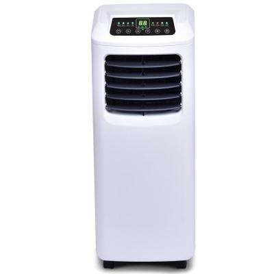 10000 BTU Portable Air Conditioner and Dehumidifier Function in White with Window Kit Remote