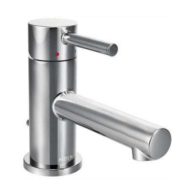 Align Single Hole 1-Handle Bathroom Faucet in Chrome