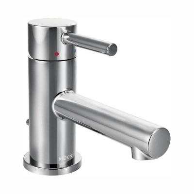Moen Align Single Handle Pull Down Sprayer Kitchen Faucet With Reflex And Power Clean In Chrome 7565 The Home Depot