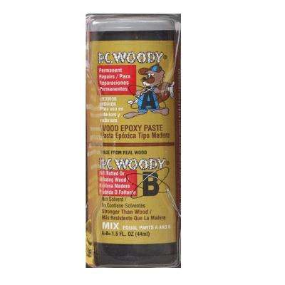 PC-Woody 1.5 oz. Tan Epoxy Paste