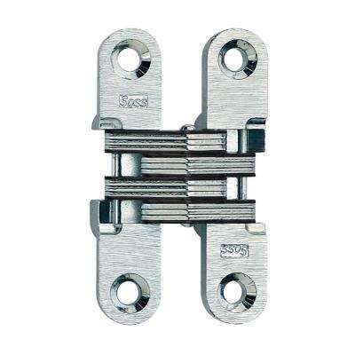 Ordinaire Satin Chrome Invisible Hinge