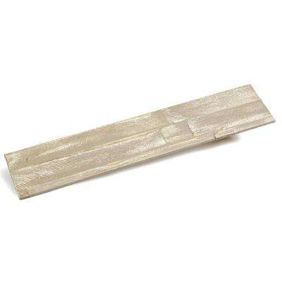 3/8 in. x 4-7/8 in. x 23-5/8 in. Martini Prefinished Wood Peel and Press Wall Panel