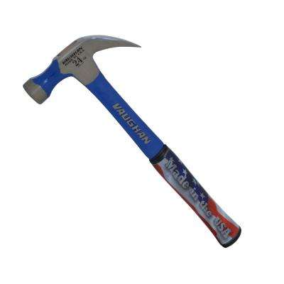24 oz. Solid Carbon Steel Nail Hammer with 14 in. Handle