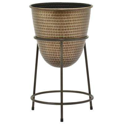 19.5 in. Metal Planter Stand