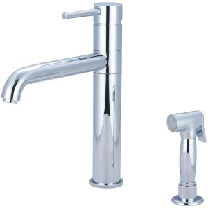 Motegi Single-Handle Standard Kitchen Faucet in Polished Chrome