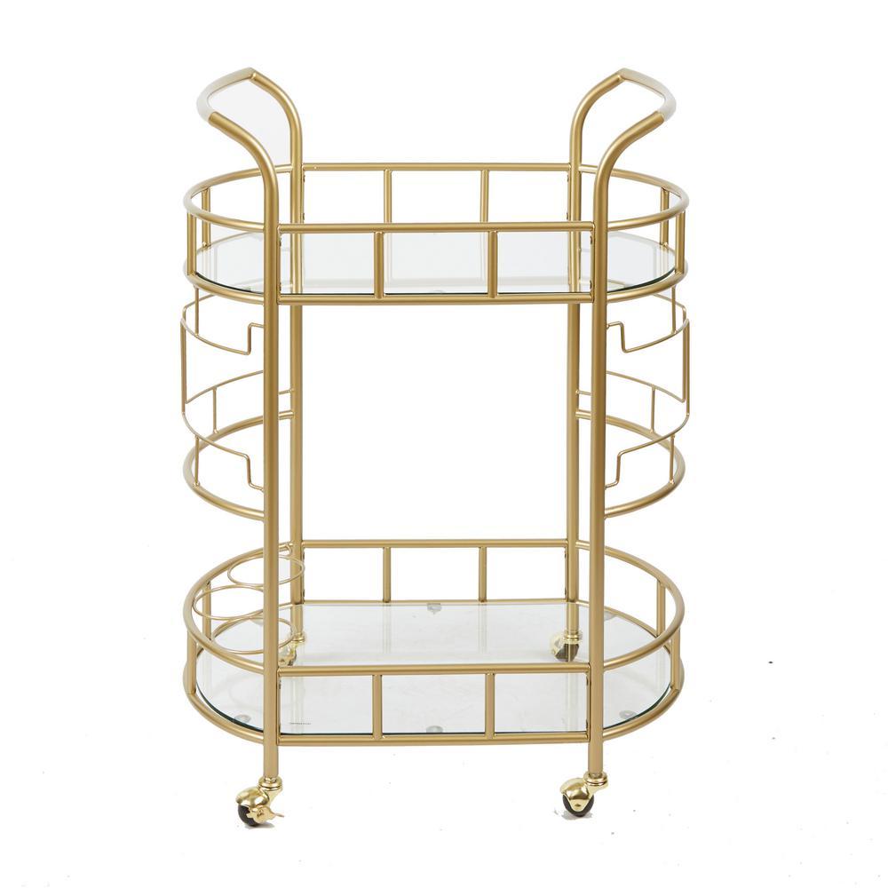 Jules Gold Bar Cart